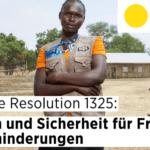 Deckblatt der Behinderung: 20 Jahre Resolution 1325: Frieden und Sicherheit für Frauen mit Behinderungen