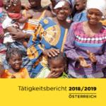 Deckblatt des Tätigkeitsbericht 2018/2019